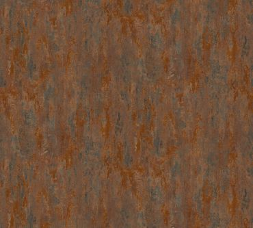 A.S. Création Strukturtapete Il Decoro in Braun, Metallic, Orange