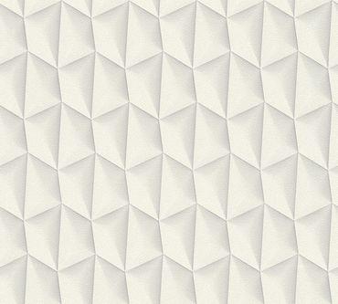 Livingwalls Mustertapete Harmony in Motion by Mac Stopa in Creme, Grau, Weiß
