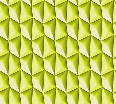 Livingwalls Mustertapete Harmony in Motion by Mac Stopa in Grün
