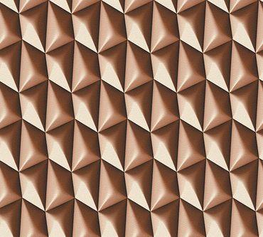 Livingwalls Mustertapete Harmony in Motion by Mac Stopa in Braun