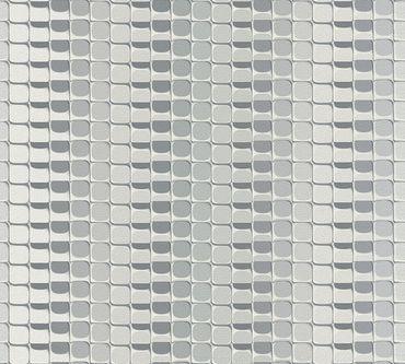 Livingwalls Mustertapete Harmony in Motion by Mac Stopa in Creme, Grau