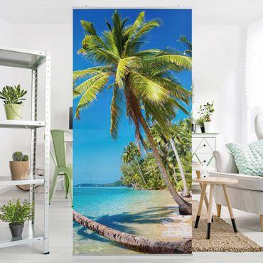 Raumteiler - Beach of Thailand 250x120cm