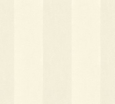 Architects Paper Streifentapete Castello in Creme, Metallic