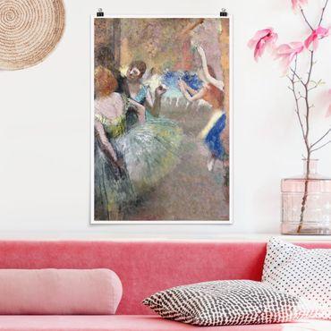 Poster - Edgar Degas - Ballettszene - Hochformat 3:2