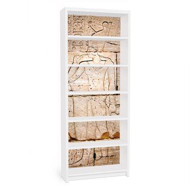 Möbelfolie für IKEA Billy Regal - Klebefolie Egypt Relief