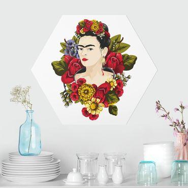 Hexagon Bild Forex - Frida Kahlo - Rosen
