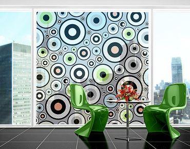 Fensterfolie - XXL Fensterbild Cheery - Fenster Sichtschutz