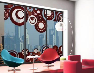 Fensterfolie - XXL Fensterbild Come Over - Fenster Sichtschutz