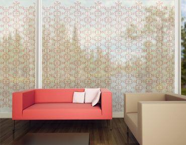 Fensterfolie - XXL Fensterbild No.DS10 Ornamentik I - Fenster Sichtschutz