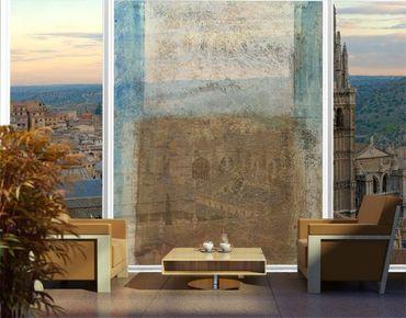 Fensterfolie - XXL Fensterbild Elements of Life - Fenster Sichtschutz