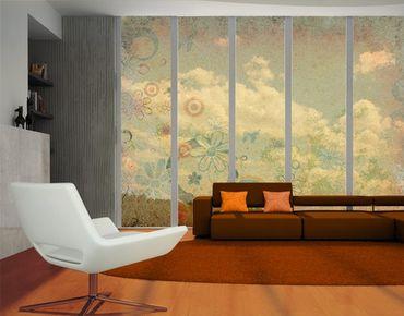 Fensterfolie - XXL Fensterbild Fantasia - Fenster Sichtschutz