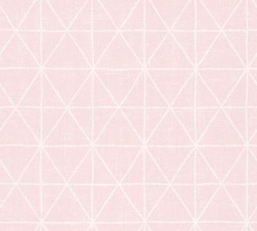 A.S. Création Mustertapete Scandinavian Style in Metallic, Rosa, Weiß