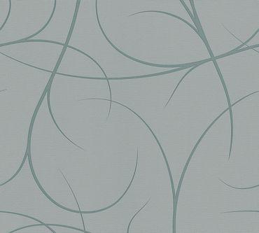 Lars Contzen Mustertapete Artist Edition No. 1 Elegance in Greenhouse in Grau