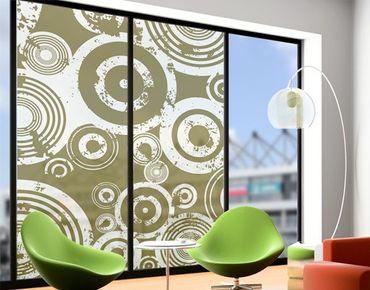 Fensterfolie - XXL Fensterbild Mechanix - Fenster Sichtschutz