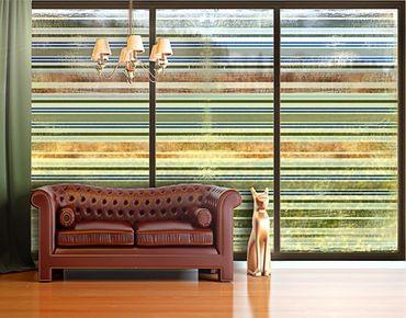 Fensterfolie - XXL Fensterbild Streaky II - Fenster Sichtschutz