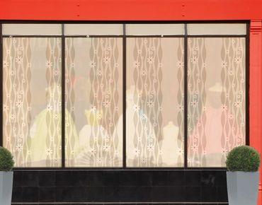 Fensterfolie - XXL Fensterbild Gänseblümchen - Fenster Sichtschutz