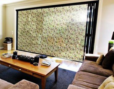 Fensterfolie - XXL Fensterbild Verloren im Paradies - Fenster Sichtschutz