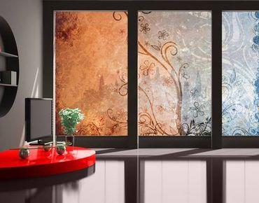 Fensterfolie - XXL Fensterbild Dignity - Fenster Sichtschutz