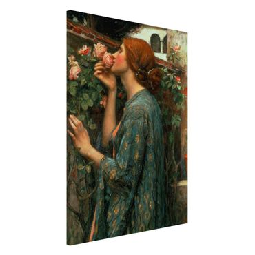 Magnettafel - John William Waterhouse - Die Seele der Rose - Memoboard Hochformat 3:2