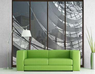 Fensterfolie - XXL Fensterbild Im Berliner Reichstag II - Fenster Sichtschutz