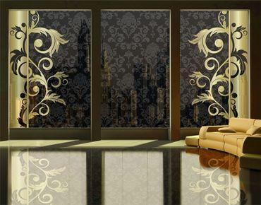 Fensterfolie - XXL Fensterbild The 12 Muses - Kalliope - Fenster Sichtschutz