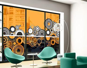 Fensterfolie - XXL Fensterbild Up & Down - Fenster Sichtschutz