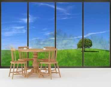 Fensterfolie - XXL Fensterbild Relaxation - Fenster Sichtschutz