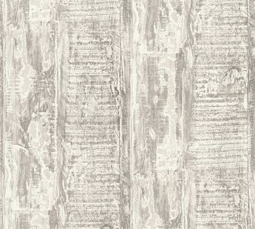 A.S. Création Strukturtapete Best of Wood`n Stone 2nd Edition in Creme, Grau