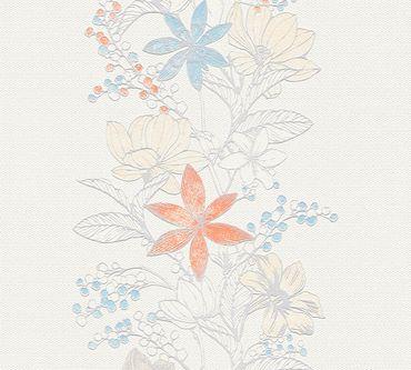 Esprit Mustertapete Esprit 13 Romantic Botanics in Bunt, Metallic, Weiß