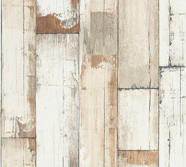 A.S. Création Streifentapete Il Decoro in Braun, Creme, Weiß