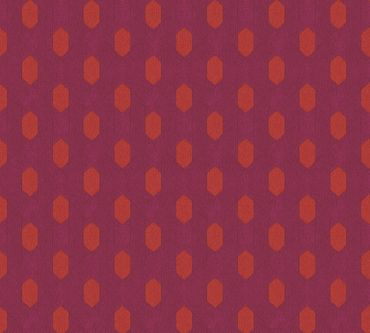 Architects Paper Mustertapete Absolutely Chic in Rot, Orange, Lila