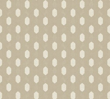 Architects Paper Mustertapete Absolutely Chic in Metallic, Grau, Beige