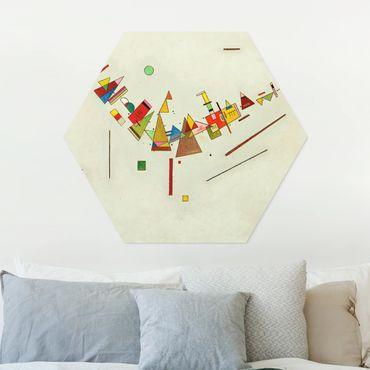Hexagon Bild Forex - Wassily Kandinsky - Winkelschwung