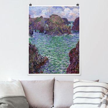 Poster - Claude Monet - Port Goulphar - Hochformat 3:4