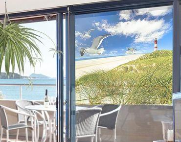 Fensterfolie - Sichtschutz Fenster Dune Breeze - Fensterbilder