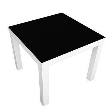 Möbelfolie für IKEA Lack - Klebefolie Colour Black