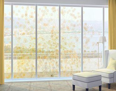 Fensterfolie - XXL Fensterbild No.RY6 Blütenregen - Fenster Sichtschutz