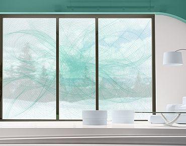 Fensterfolie - XXL Fensterbild No.RY8 Modern Dance - Fenster Sichtschutz