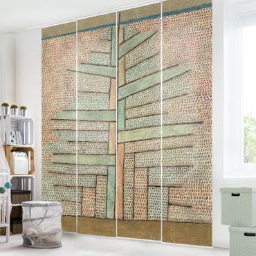 Schiebegardinen Set - Paul Klee - Kiefer - Flächenvorhänge