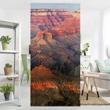 Raumteiler - Grand Canyon nach dem Sonnenuntergang 250x120cm