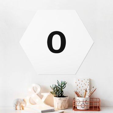 Hexagon Bild Forex - Buchstabe Weiß O