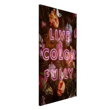 Magnettafel - Jonas Loose - Live Color Fully - Memoboard Hochformat 4:3
