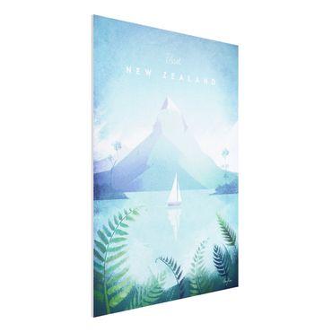 Forex Fine Art Print - Reiseposter - Neuseeland - Hochformat 4:3
