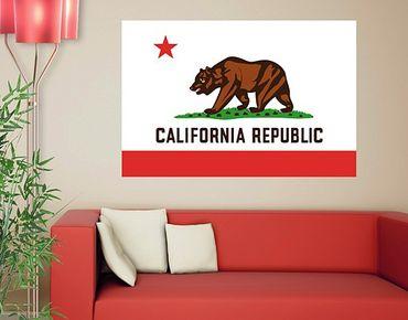 Wandtattoo Sprüche - Wandworte No.553 California