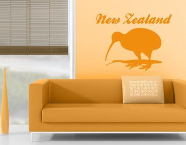 Wandtattoo Sprüche - Wandworte No.JS38 New Zealand Kiwi