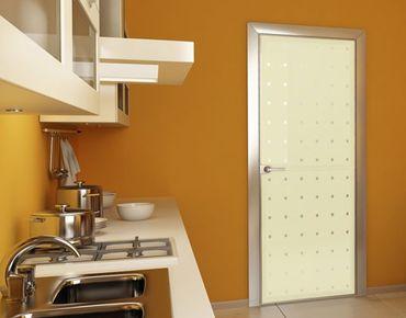 Fensterfolie - Sichtschutzfolie No.UL933 Kleine Quadrate III - Milchglasfolie