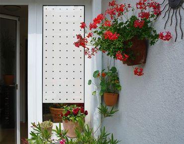 Fensterfolie - Sichtschutzfolie No.UL934 Kleine Punkte III - Milchglasfolie