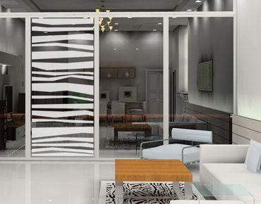 Fensterfolie - Sichtschutzfolie No.UL940 Jalousie III - Milchglasfolie