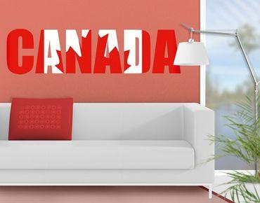 Wandtattoo Sprüche - Wandworte No.JS50 Kanada