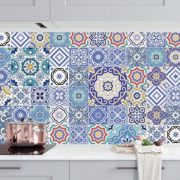 Küchenrückwand - Fliesenspiegel - Aufwändige Portugiesische Fliesen